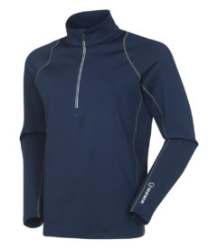 Sunice Men's Tobey Pullover With Reflective Tape - Midnight/Charcoal, Medium 2020-21 at Northern Ski Works