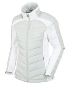 Sunice Women's Chelsey Insulated Jacket - Oyster/Pure White, Small 2020-21 at Northern Ski Works