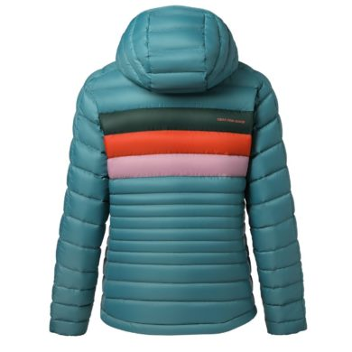 Cotopaxi Women's Fuego Down Hooded Jacket 2020-21 at Northern Ski Works 2