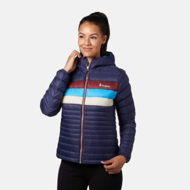 Cotopaxi Women's Fuego Down Hooded Jacket 2020-21 at Northern Ski Works 1