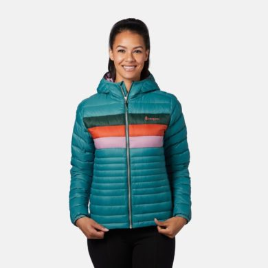 Cotopaxi Women's Fuego Down Hooded Jacket 2020-21 at Northern Ski Works 4