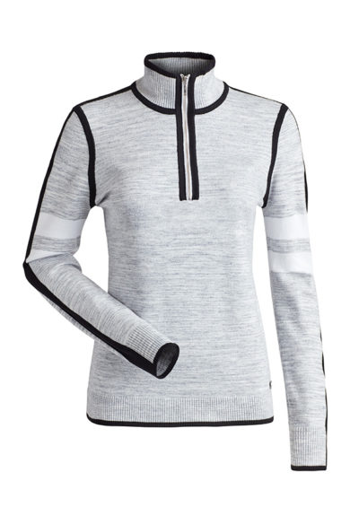 Nils Women's Julia Sweater - Graphite Space Dye, Small 2020-21 at Northern Ski Works