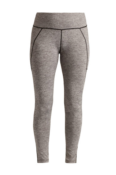 Nils Women's Sarah Body Zone 1 Base Layer Legging - Heather, Small 2020-21 at Northern Ski Works