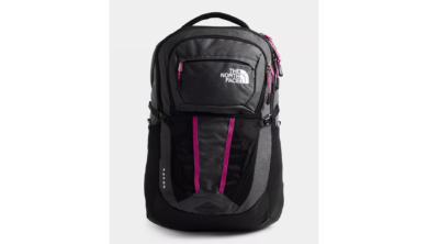 The North Face Women's Recon Backpack - Asphalt Grey Light Heather/Wild Aster Purple 2020-21 at Northern Ski Works