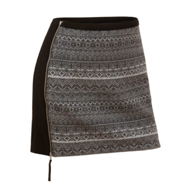 Krimson Klover Mikaela Skirt - Charcoal, Medium 2020-21 at Northern Ski Works