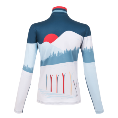 Krimson Klover Amiche 1/4 Zip Mid-Weight Base Layer Top 2020-21 at Northern Ski Works