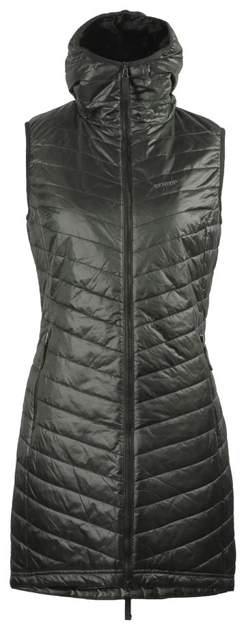 Skhoop The Debbie Long Vest - Olive, Small 2020-21 at Northern Ski Works