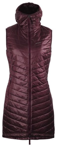 Skhoop The Debbie Long Vest - Ruby Red, Small 2020-21 at Northern Ski Works