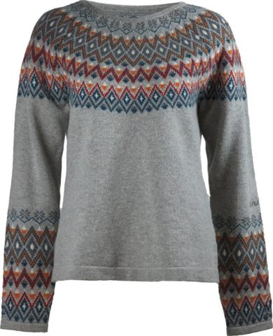 Skhoop Jeanette Sweater - Grey, Small 2020-21 at Northern Ski Works