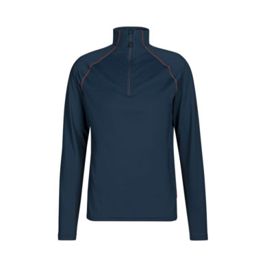 Mammut Men's Snow Mid Layer Half Zip Pull Over 2020-21 at Northern Ski Works