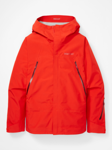 Marmot Men's Spire Jacket - Victory Red, Small 2020-21 at Northern Ski Works