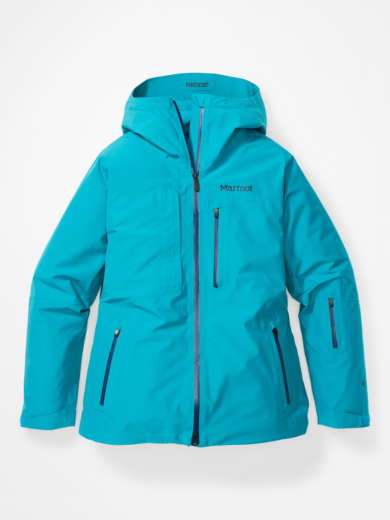 Marmot Women's Lightray Jacket - Enamel Blue, Small 2020-21 at Northern Ski Works