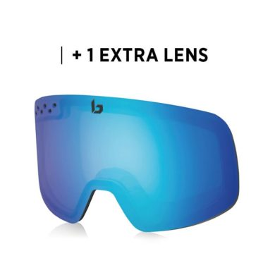 Bolle Nevada Neo Black Matte Goggles 2020-21 at Northern Ski Works 3