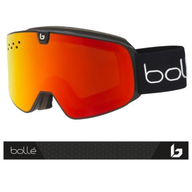 Bolle Nevada Neo Black Matte Goggles 2020-21 at Northern Ski Works 1