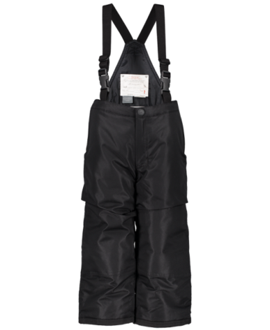 Obermeyer Kids Frosty Suspender Pants - Black, 4 at Northern Ski Works