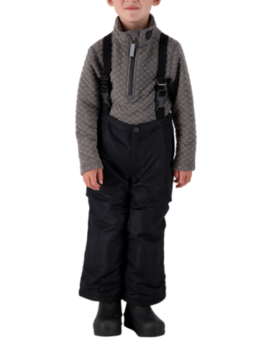 Obermeyer Kids Frosty Suspender Pants - Black, 6 at Northern Ski Works