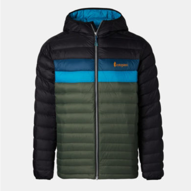 Cotopaxi Men's Fuego Down Hooded Jacket at Northern Ski Works 3