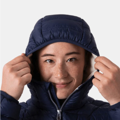 Cotopaxi Women's Fuego Down Hooded Jacket - Spruce & Brush, Large at Northern Ski Works 3