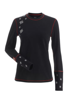 Nils Women's Maddie Body Zone 1 Midweight Base Layer Top at Northern Ski Works
