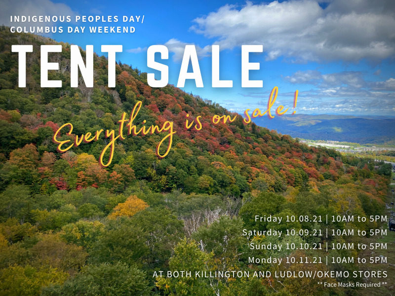 Annual Columbus Day Weekend Sale 2021 at Northern Ski Works